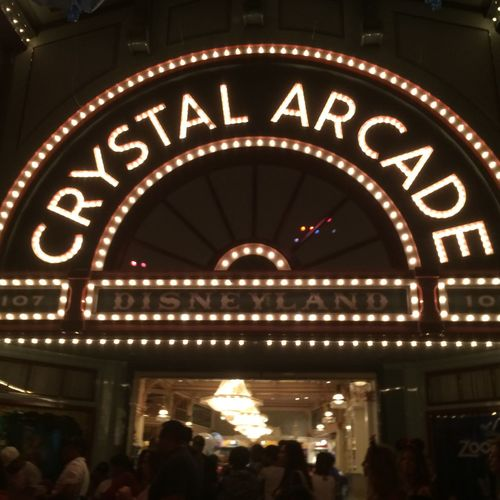 got a thing for arcades EyeEmNewHere Disney Large Group Of People Illuminated Text Real People Lifestyles Night Leisure Activity