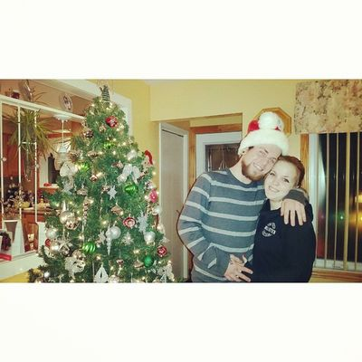 2nd Christmas with my boy ❤ 100daysofhappy Daysixteen MyBoy Secondchristmas lovedit