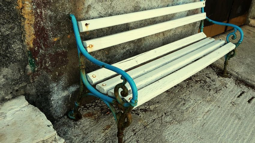 A bench in Croatia, Croatia Old Is Beautiful
