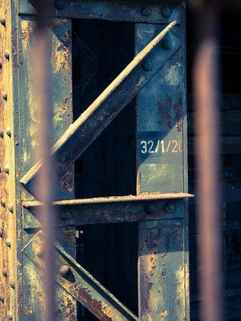 Fabrik SUPPORT Outdoors Rusty Stahl Stützen Werk