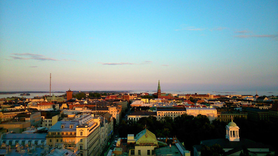 Summer Early Evening Helsinki City Views Cityscapes Seeing The Sights