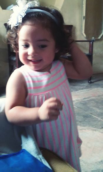 Mi hermosa bebe volvio a casa :3 Cheese! First Eyeem Photo