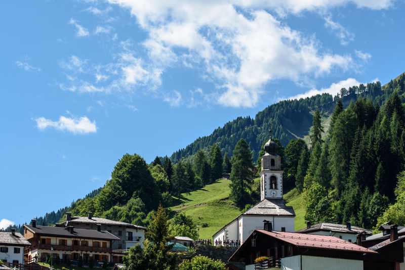 Historical architectures and details of popular art of Sauris Alpine Carniceria Country Friuli Venezia Giulia Green Hiking Meal Nature Rustic Typical Udine Alpine Landscape Alps Food Frico Friuli Mountain Rustic Charm Saurian Traditional Valley