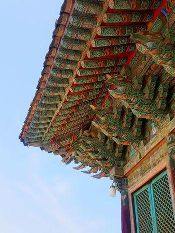 아름다운 기와. 경주에서. Beautiful Tiled Roof  May 2016 in the Gyeongju Korea History