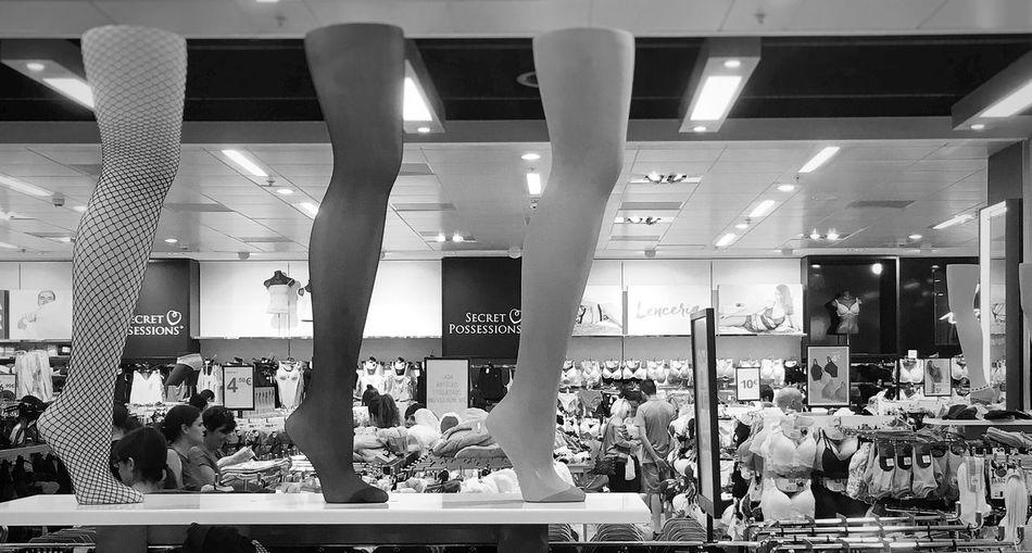 Indoors  Retail