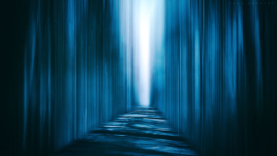 Ghostworld Backgrounds Blue Blue Sky Blur Curtain Day Fantasy Ghost Ghostworld Indoors  Mysterious Mystery No People The Way Forward World World In Between