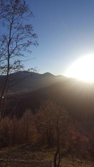 Val Trebbia Piacenza sky sun Sky Sun