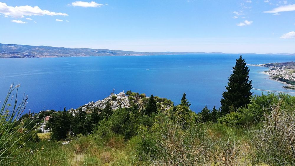 Sea Landscape Nature Sky Beauty In Nature Water No People Day Blue Horizon Over Water Scenics Outdoors Adriatic Sea Omis Omis Croatia