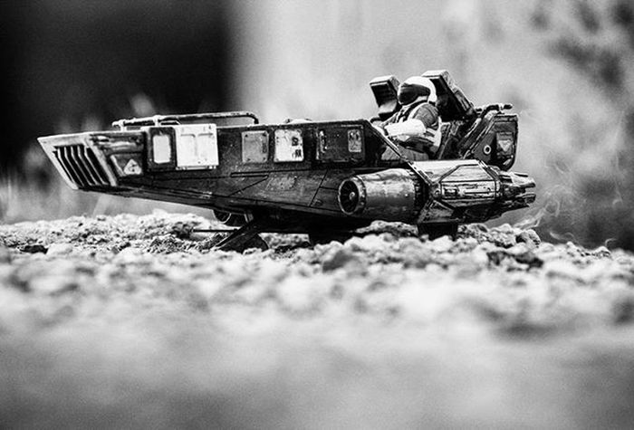 Mini moon man comendeered this custom SnowSpeeder for his travels..stay tuned for updates on him and other toys here @toyonlocation!! Toyonlocation Toy_nerds Snowspeeder Customtoys Custompaint Toyart Toyphotography Bnw_society Toyboners Toys Toyoutsiders Toydiscovery Toyphotography Toygroup_alliance Toystagram Toystory Toypictures Toyjuice Phxtoypics Toptoyphotos Minimoonmanadventures