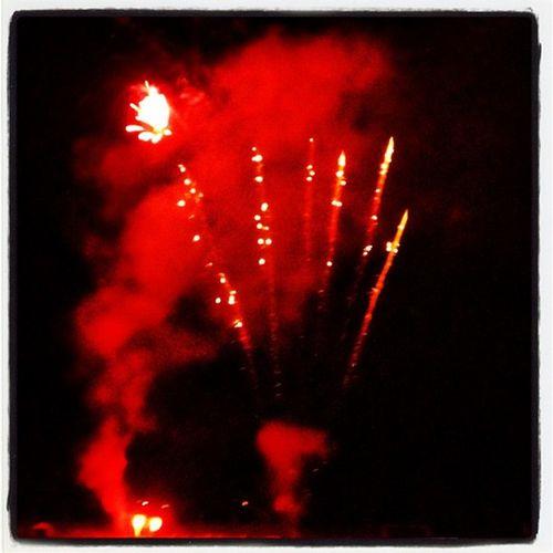 Red Light Featival! #milton #btv #vt Milton_vt Party Festival Winter Fireworks Celebration Red Streaks Vermont RedSky Bang Milton Vt Btv Winter_festival