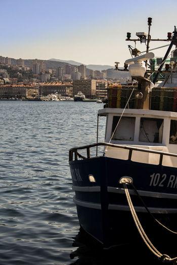 Boat in marine