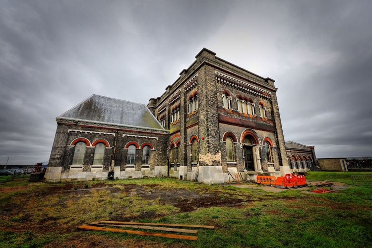 Crossness Pumping Station Built Structure Building Exterior Architecture Cloud - Sky Sky Religion Nature