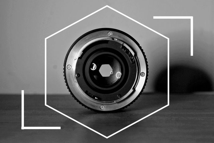 """""""shot"""" Indoors  White Background Low Angle View Camera - Photographic Equipment Indoors  Film Industry Blackandwhiteworld 50mmlensphotography Close-up Blackandwhitephoto Chilling ✌ Black And White Abstract Photography Blackandwhite Indoors  Black & White 50mm F/1.4"""