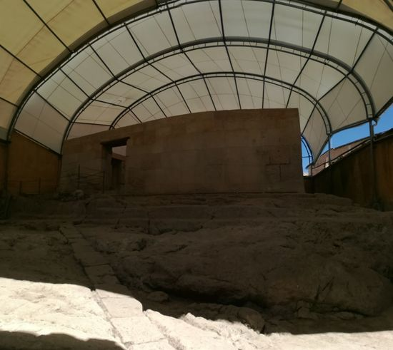 Cuaro de rescate de Atahualpa-Cajamarca