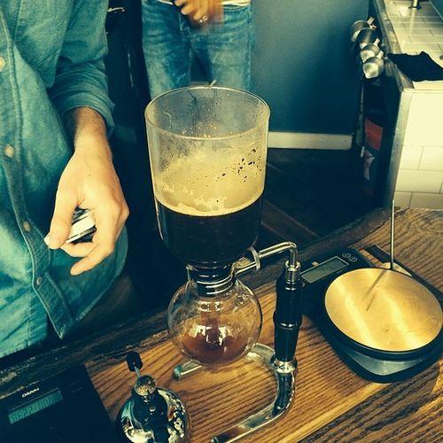 Mudcup coffee.. Coffeebrewing Coffee Uniquecoffee Saturday realcoffee mudcup jerseycity tasty