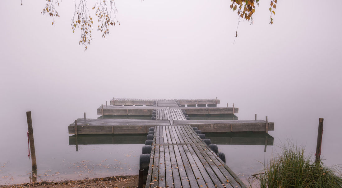 Lake with fog in the early morning Morning Architecture Beauty In Nature Day Fog Foggy Foggy Morning Lake Lake View Landscape Murner See Nature No People Outdoors Sky Tree Wackersdorf Water