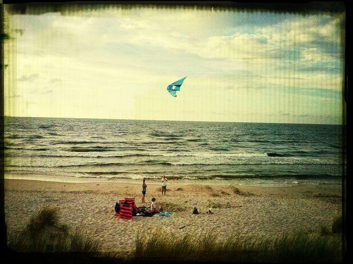 łeba Relaxing Latawce Wiatr