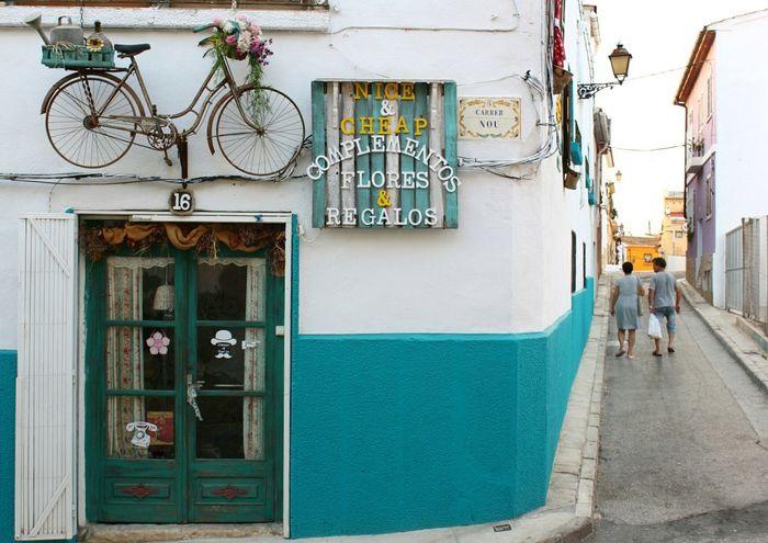 Storefront Storefront View Store Bike Bikes Vintage Vintage Photo Denia Denia,spain SPAIN