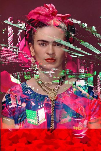 She Will Always Be! Photographic Approximation Facial Experiments The Glitch Generation Forgotten Dreams New Nightmares Image Nation