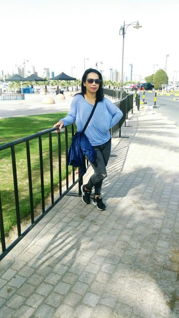 Outwithfriends Marina Mall Kuwait Seaside Itsme have a good day ahead😘😉