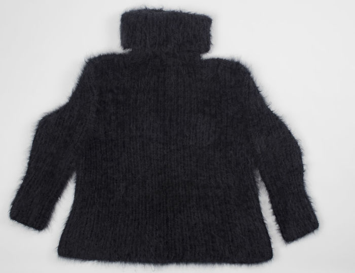 angora sweater on white background Angora Sweater Angora Goat Autumn Cardigan Fashion Homemade Knitting Winter Angora Rabbit Clothing Craft Mohair Sweater Natural Fibers Softness Sweater Women Wool
