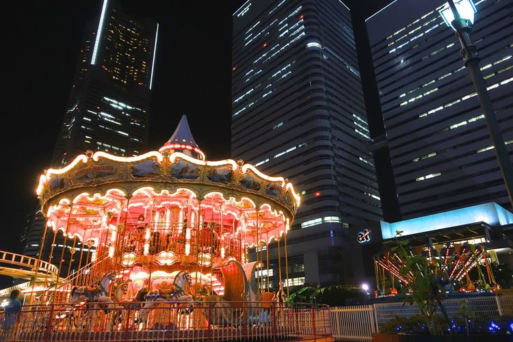 Merry-Go-Round Merrygoround Light And Shadow Nightphotography Night Lights Cityscapes Eye4photography  EyeEm Best Shots Architecture