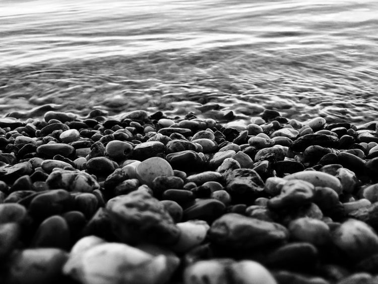 Pebbles Pebblebeach Pebblestones Pebbles And Stones Black And White Blackandwhite Patterns & Textures Pattern, Texture, Shape And Form Black & White Blackandwhite Photography Blackandwhitephotography B&w Photography