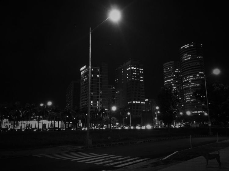 Alabang City City Lights HuaweiP9 Mobilephotography Monochrome Night P9 Philippines Leicacamera