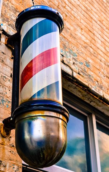 Urbanphotography Urban Barber Shop Barber Pole North Carolina