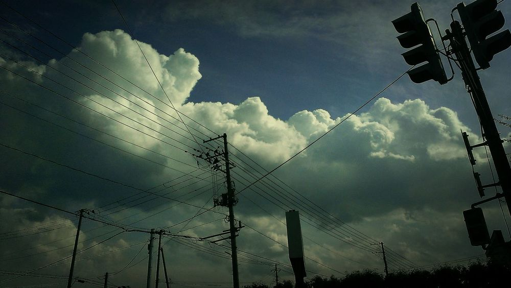 Clouds And Sky Silhouette