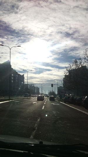 Sunny In December  No Filter Skyporn Trafficinthecity
