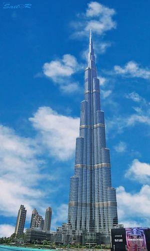 برج خليفة - دبي Burj_khalifa Dubai Summer City Cityscape Urban Skyline Modern Skyscraper Blue Business Finance And Industry Industry Tower Sky Construction Office Building