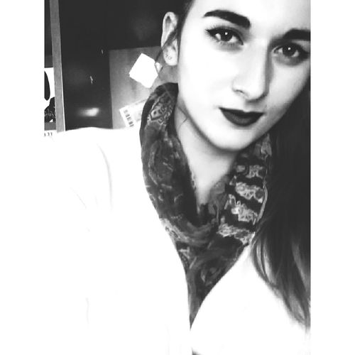Blackandwhite Weird Face Eyebrows Black Lipstick  Winged Eyeliner POTD Wintertime Moods