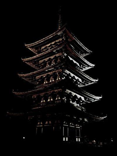 National Treasure Historical Building Nightphotography Architecture