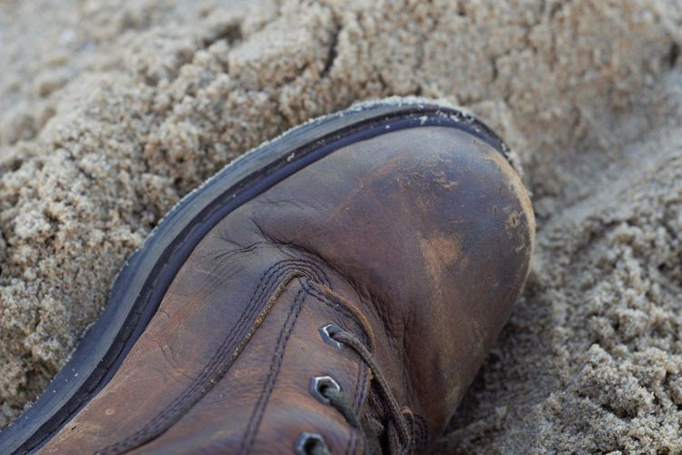 Beach Boot Brown First Eyeem Photo Landscape Leather Sand Shoe