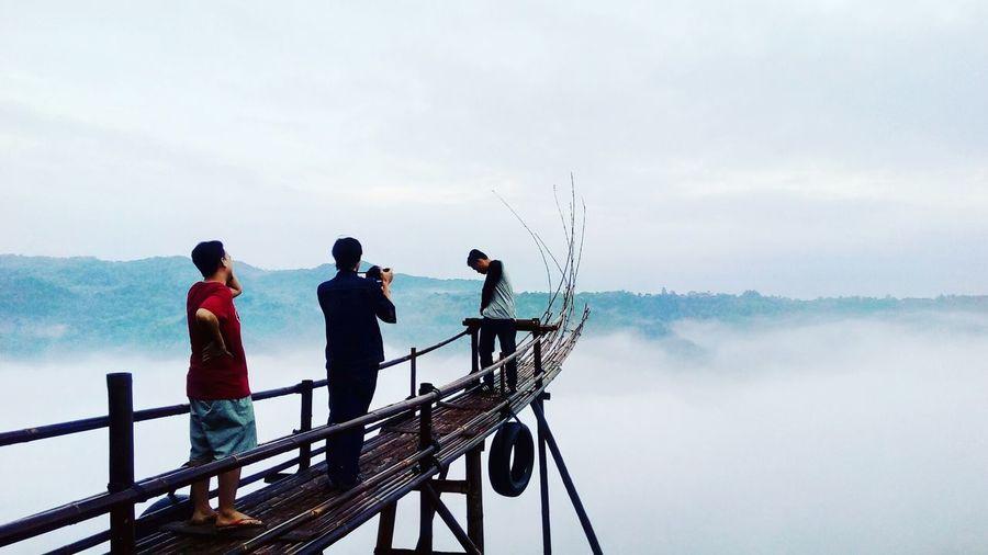 Bukitmojo Yogyakarta Nature Sky And Clouds