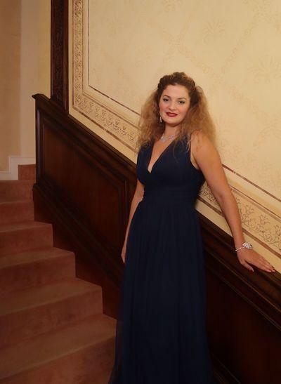 Soprano lirico Lucrezia Drei Beauty Singer Woman Italian Soprano Lyric Soprano Lucrezia Drei
