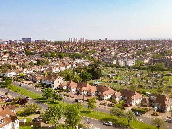Aerial Architecture Built Structure City City Life Cityscape Elevated View Horizon Over Land No People Outdoors Residential District Sky TOWNSCAPE Westcliff Southend On Sea