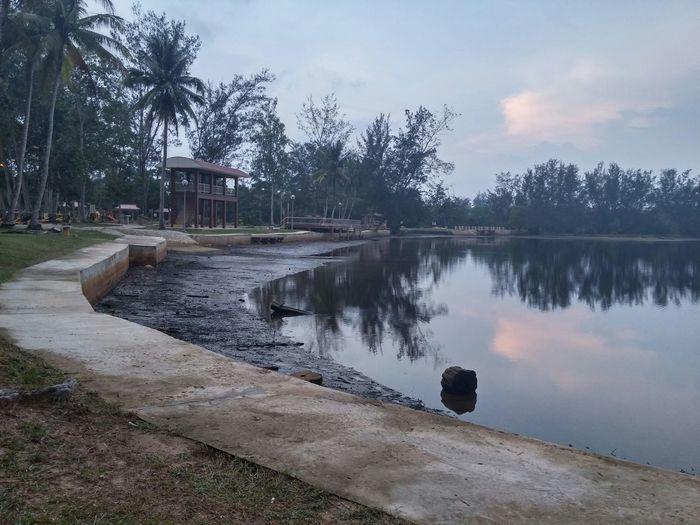 anduki lake by lg g3 on hdr (raw_untouch) @anduki jubilee recreational park, sr in Seria, Brunei