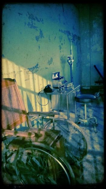 Alcatras hospital No People Hospital Ward Horror And Macabre WhellChair Alcatraz In Sight Alcatraz