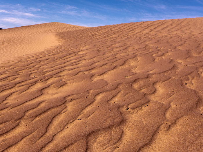 Desert Sand Land Climate Landscape Scenics - Nature Sand Dune Sky Arid Climate Environment Nature Tranquility Beauty In Nature Tranquil Scene Day Non-urban Scene No People Outdoors Morocco Africa Physical Geography Atmospheric Brown Sahara