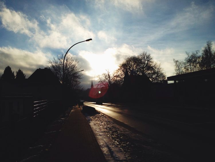 Clouds And Sky Sun