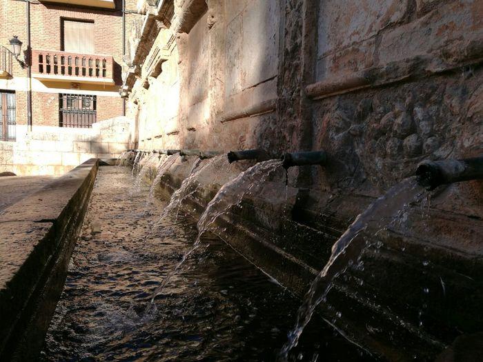 Otra Vista de una de las Fuentes que hay en el Pueblo de Daroca