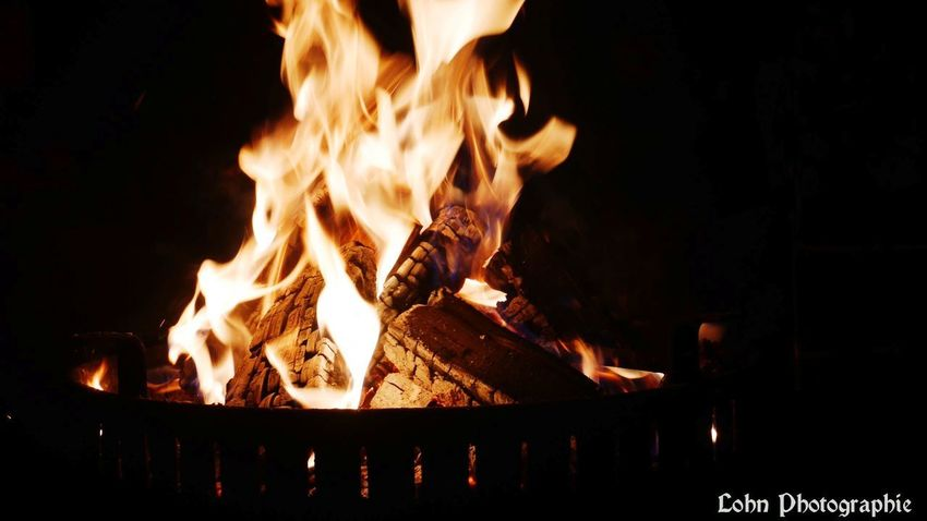 Flame Heat - Temperature Burning Night No People Outdoors Close-up Food