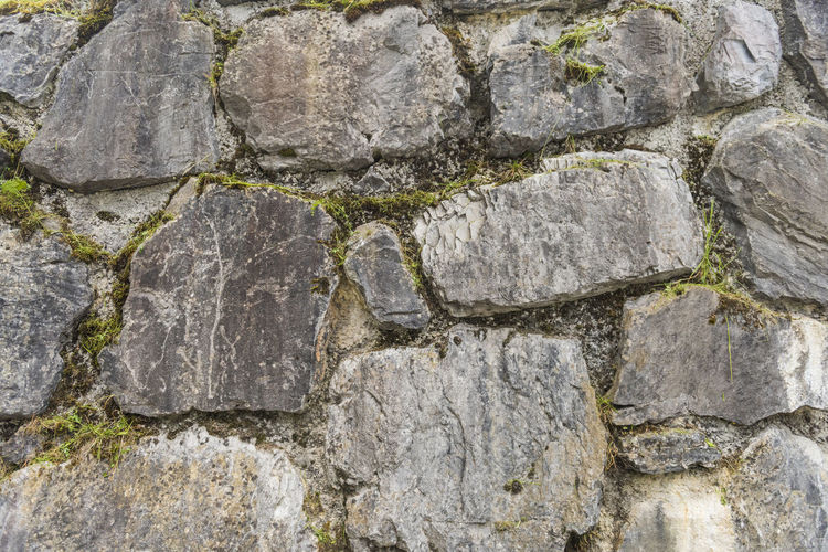 Architecture Backgrounds Built Structure Close-up Concrete Day Full Frame Gray History Nature No People Outdoors Rock Rock - Object Rough Ruined Solid Stone - Object Stone Material Stone Wall Textured  Wall Wall - Building Feature