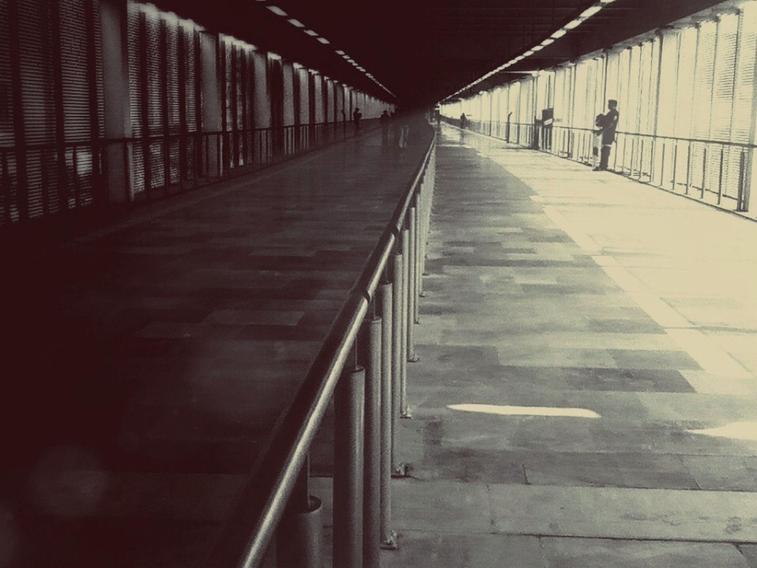 the way forward, architecture, built structure, diminishing perspective, railing, vanishing point, indoors, empty, transportation, sunlight, narrow, shadow, incidental people, long, steps, day, walkway, walking, steps and staircases