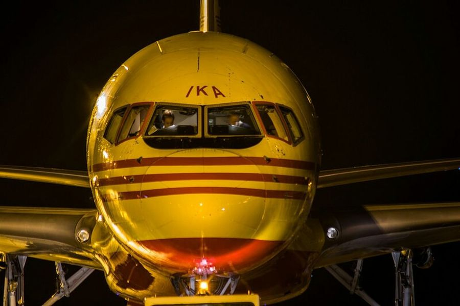 Old-fashioned Yellow No People Gold Colored Science Night Aerospace Industry Close-up Military Outdoors Cockpit Space Astronomy Engineer Winter Flying Airport Undercarriage Aviationgeek Aviationlovers Mode Of Transport EyeEm Best Shots Nikonphotography Aviationphotography Adult
