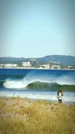Beach France Wave