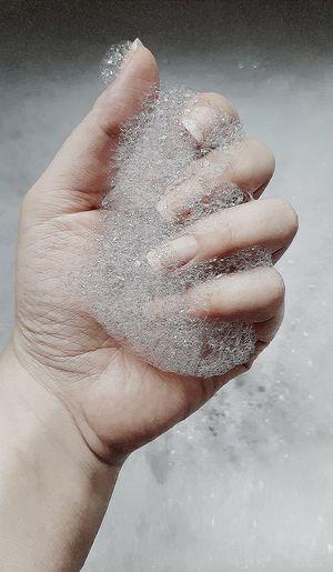 Human Body Part Textured  Human Hand Close-up
