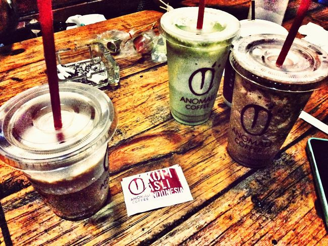 Saturday Night Strong Coffee Relaxing Hangout!  With my friends